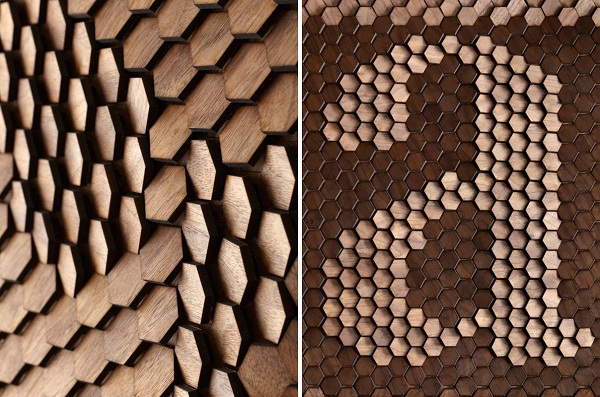 Инновационные декоративные поверхности от Giles Miller Studio