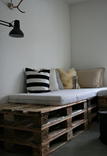 Креативное использование деревянных поддонов
