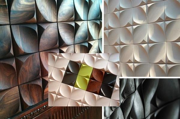 Dune - объемные стеновые панели от Urbanproduct