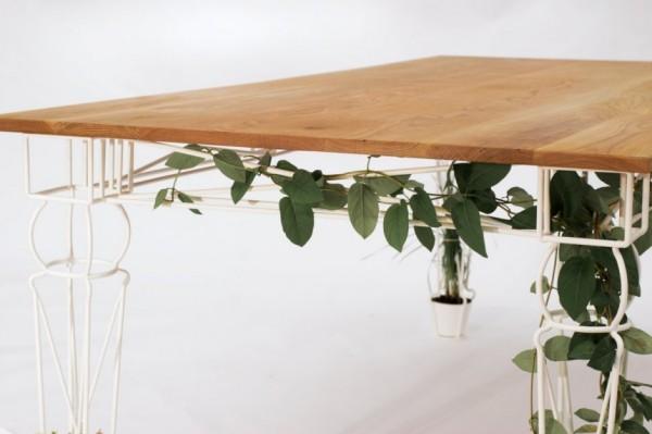 Plantable – «зеленый» стол от JAILmake Studio