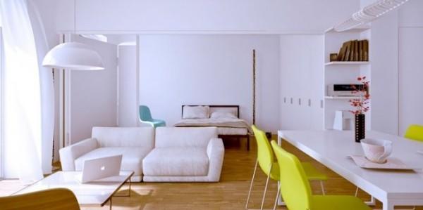Креативныентерьеры квартиры от Wojciech Piwowarczyk