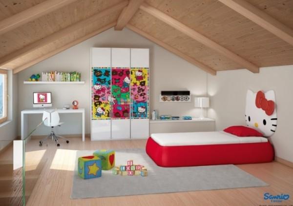Тематические постеры в интерьерах детских комнат от Cia International