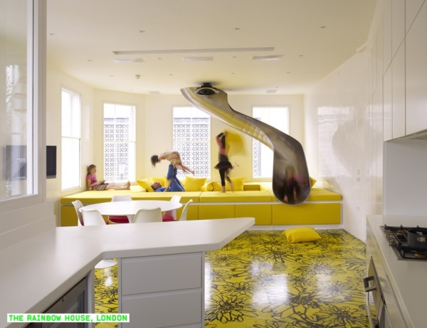 Жилой дом Rainbow House от Ab Rogers Design и DA.Studio в Лондоне