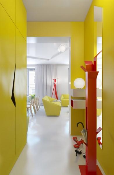 Дизайн-проект небольшой квартиры от Анны Мариненко (Anna Marinenko)