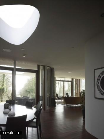 Вилла Retro Futuristic House от Mecanoo Architecten в Голландии