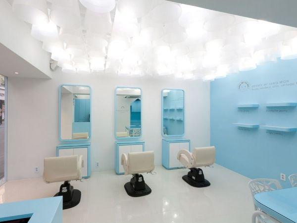 Интерьеры корейского салона красоты Permy Mi Jang Won