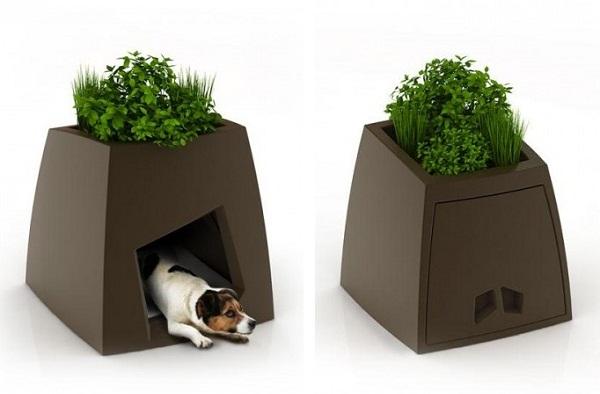 Домашний мини-сад + домик для домашних животных от Jardin Chic