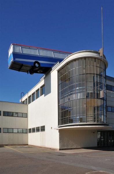 «Минуточку Ребята, я есть отличная идея ...». Архитектурная арт-инсталляция в Восточном Сассексе