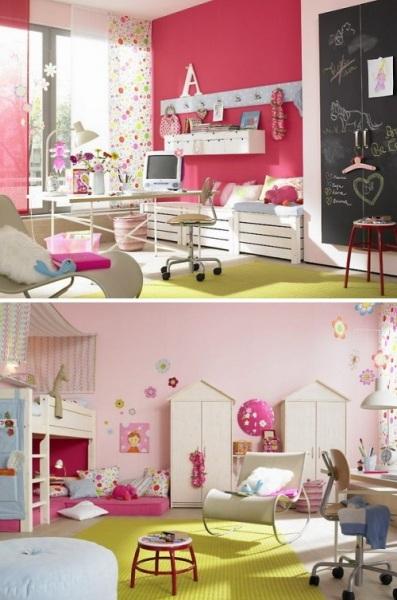Идеи для дизайна комнаты юной леди