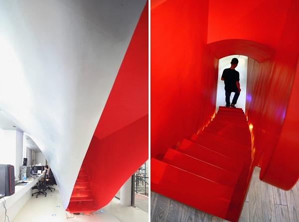 Red Town Office - офис архитектурной студии Taranta Creations в Шанхае (Китай)