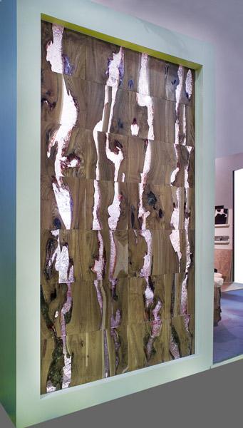 Wood-Ice Cube panels – натуральные настенные панели от SDA