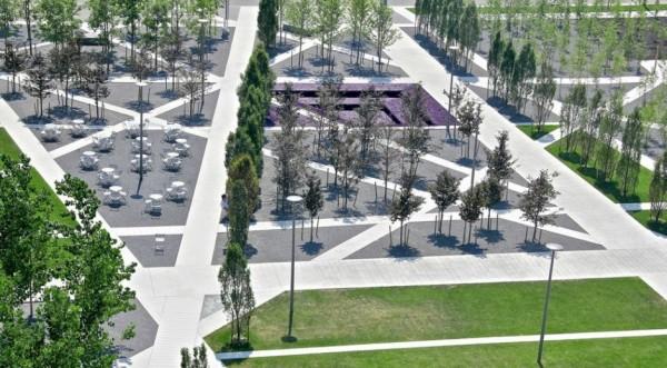 Scholars' Green Park - новая типология школьного парка от канадских архитекторов