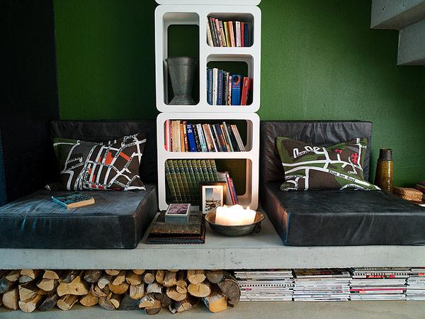 Интерьер квартиры-студии от Джимми Шоннинга (Jimmy Schonning)