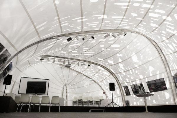 Авангардный музыкальный павильон от Soma в рамках Biennale 2011 в Австрии