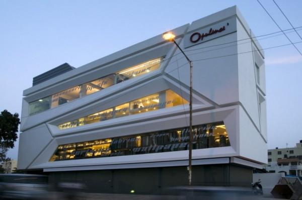Трехмерные фасады торгового комплекса Splice от Cadence Architects