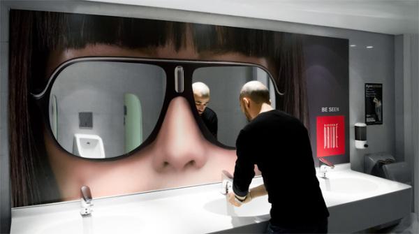 Виниловые наклейки-зеркала в стиле люкс в ливанском отеле Riviera Prive