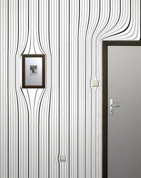 Обои с оптическими иллюзиями от Surrealien