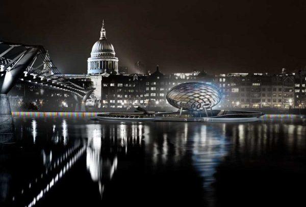 Проект расширения северного берега Темзы London River Park от Gensler