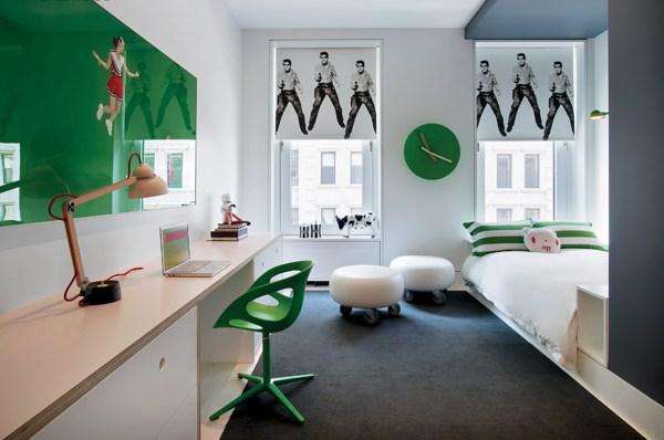 Жилой дом Willy Wonka House в Нью-Йорке (США)