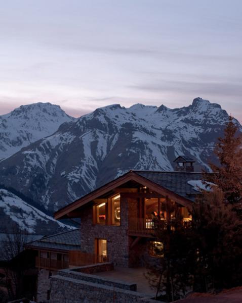 Ультра-современное горное шале во Франции
