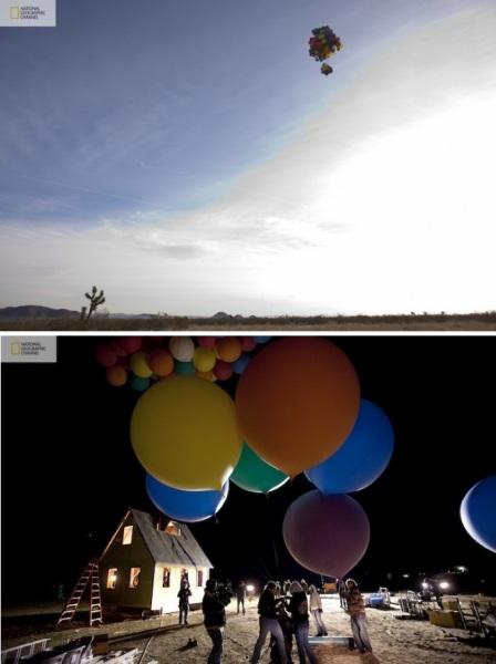 Полет на возушном шаре от National Geographic