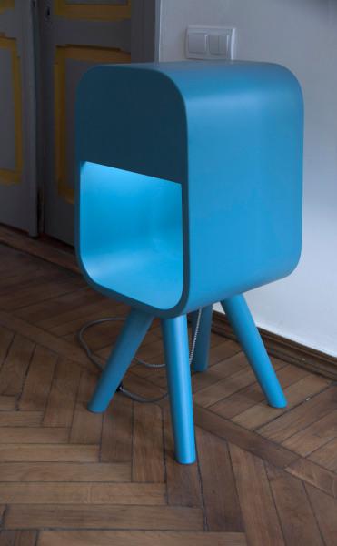 Ushanki Shelf-Lamp – креативная коллекция полок-ламп от Decorkuznetsov
