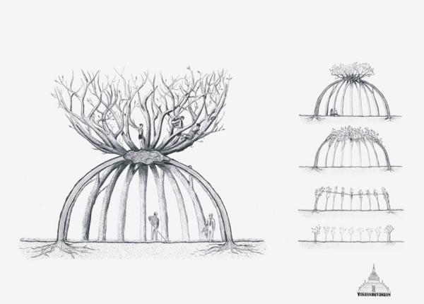 Patient gardenter - многолетняя живая инсталляция от visiondivision