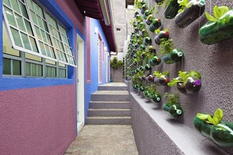 Альтернативный городской висячий сад от Rosenbaum