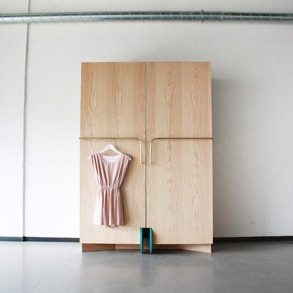 Удобный гардероб от Hosun Ching
