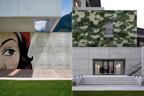Креативные обои для декора экстерьеров от Wall & Deco