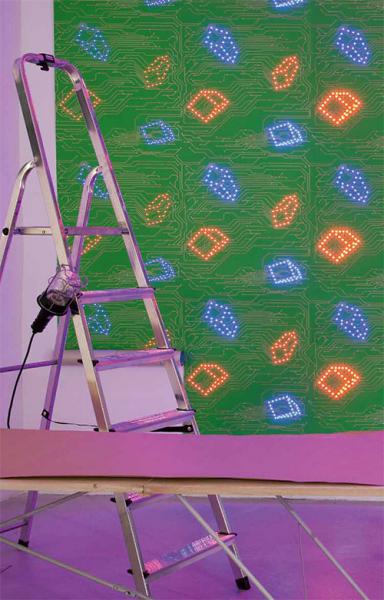 Ультра-современные светодиодные обои от Architects-Paper