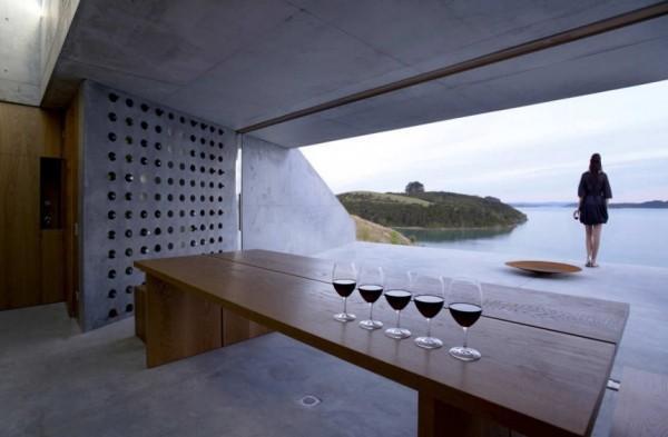 Ультра-современный винный погреб в Новой Зеландии
