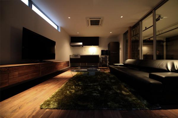 Harley In Da House - жилой дом в Японии от Three ball cascade architects