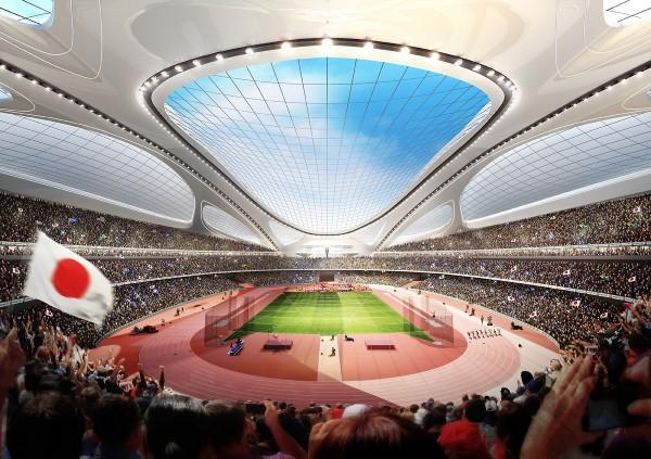 National Stadium of Japan – проект стадиона в Японии от Zaha Hadid Architects