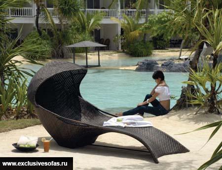 Садовая мебель.Лежак