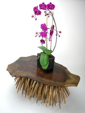 Обзор необычной деревянной мебели