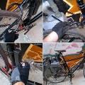 Создан саморазваливающийся «противоугонный» велосипед