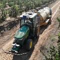 Трактор с автопилотом