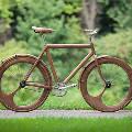 Первый в мире электрический деревянный велосипед выехал на улицы Бруклина