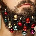 Британские хипстеры наряжают к Нового году бороды