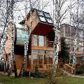 Выбраны самые необычные деревянные дома, построенные в России