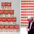 В супермаркетах появились консервы с посвящением Энди Уорхолу