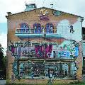 Фасады киевских домов превращают в произведения искусства