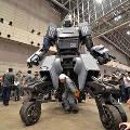 Японцы создали военного робота, управляемого по смартфону