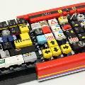 Фанат LEGO собрал из этого конструктора компьютерную клавиатуру