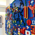 В отеле на Манхеттене появилась стена из LEGO