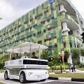 В Сингапуре испытывают электромобиль без водителя
