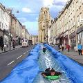 В Англии появится самая длинная водная горка
