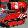 Новый европейский робот-пожарный успешно прошел первые испытания