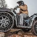 Квадроцикл  WV850 HO ATV поставили на новые шины